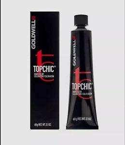 GOLDWELL TOPCHIC TUBES 60ML - Permanent Hair Colour - 2N DARK BROWN HAIR COLOUR