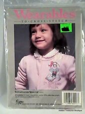 """""""Somebunny Special"""" Wearables to Cross Stitch by Golden Bee Inc. #60253"""