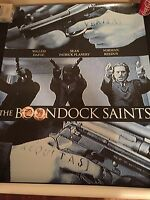 BOONDOCK SAINTS - MOVIE POSTER - 27x39 w/ SEAN FLANERY NORMAN REEDUS NEW