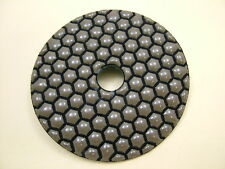 "Dry Diamond polishing pad 100mm (4"") 50 grit coarse. Granite,glass,marble etc."