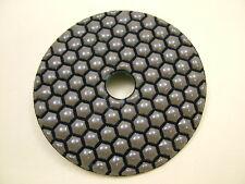 "Dry Diamond polishing pad 100mm (4"") 50 grit coarse. Granite,glass,marble etc."