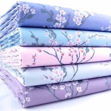 FQ Bundle Sakura Fiore Di Ciliegio Multicolore x 5 Fat Quarter Cotone Tessuto