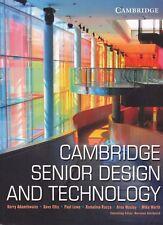Cambridge Senior Design and Technology By Lowe, Ellis, Kerry Adamthwaite, Rocca