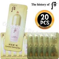 The history of Whoo Gongjinhyang Mi Essential Makeup Base 1ml x 20pcs (20ml) New