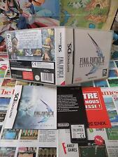 Nintendo DS:Final Fantasy Revenant Wings [TOP RPG & 1ERE EDITION] COMPLET - Fr