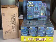 Vintage 1975 Pet Ghost Store Display & ( 24 ) Factory Sealed Pet Ghost Funstuf