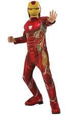 Official Avengers Endgame Iron Man Deluxe Child Boys Fancy Dress Costume