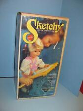 Vintage 1969 Mattel Sketchy Drawing Doll  MINT IN  Box  OLD STORE STOCK
