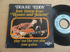 "DISQUE 45T DE DUANE EDDY   "" LOVE THEME FROM ROMEO AND JULIETTE """