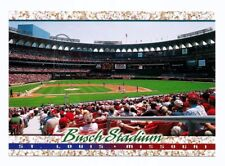 ST. LOUIS CARDINALS BUSCH MEMORIAL STADIUM POSTCARD