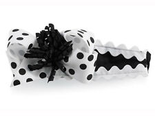 Mud Pie Baby BLACK & WHITE HEADBAND 167077 Tres Jolie Collection