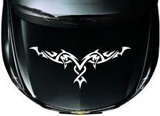 Car Tribal Racing Stripe Hood decals  Vinyl Graphics stickers #CX53