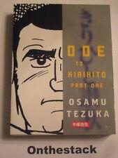 MANGA: Ode to Kirihito Part 1 by Osamu Tezuka (Paperback, 2010)