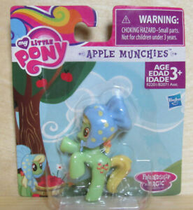 NIP MY LITTLE PONY Friendship Magic APPLE MUNCHIES mini figure by Hasbro