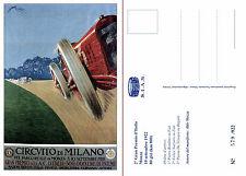 AUTODROMO DI MONZA POSTCARD - s. limitata 579/922. 2° Gran Premio d'Italia 1922