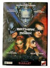 1997 : Document (Ref PICM 0306) : AFFICHE FILM BATMAN ET ROBIN    (1  p)