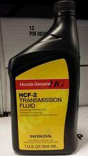 08200-HCF2 Genuine OEM Honda HCF-2 Transmission Fluid for Second gen CVT Trans.