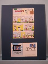 Peanuts featuring Snoopy, Charlie Brown, Rerun & and Lucy & First Day Cover