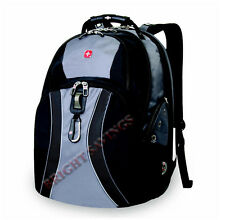 """17"""" Swiss Army Laptop Backpack Back Pack, Black, Blue, Red, or Gray Selection"""