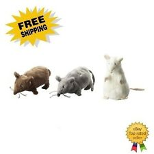 3 Ikea Gosig Mus Mini Stuffed Rat Mouse Plush Animal Toy
