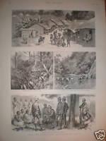 India Chin-Lushai Expedition prints 1890