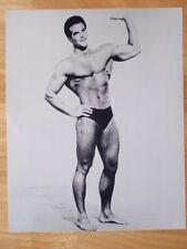 STEVE REEVES bodybuilding muscle posing photo 8 X 10