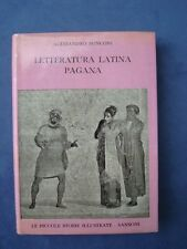 RONCONI-LETTERATURA LATINA PAGANA-PROFILO STORICO-SANSONI 1963