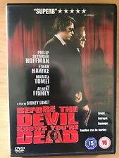 Ethan Hawke BEFORE THE DEVIL KNOWS YOU'RE DEAD ~ 2007 Heist Crime Drama UK DVD