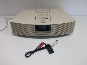 BOSE AWR1-2W AM FM Wave Clock Radio System With Bluetooth