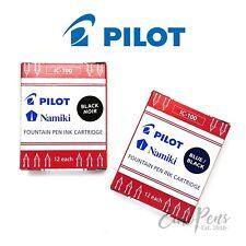 Estilográfica Pilot Caligrafía PARALELA los cartuchos de tinta-IC-100 - Paquete de 12