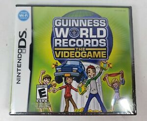 Guinness World Records: The Videogame (Nintendo DS, 2008) New, Sealed