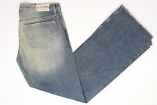The Stronghold Flare Selvage Denim Fade Blue Jeans 29x33 Womens Los Angeles