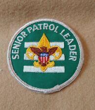 BSA - Senior Patrol Leader - 1972 -1989   B00017