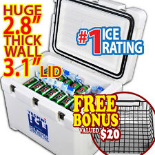 TECHNI ICE 63Qt (60L) Signature Cooler Ice Box Hunting Fishing