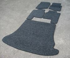Anthracite Car Mats to fit Mitsubishi Shogun/Pajero LWB (1991-1999) + Boot Mat