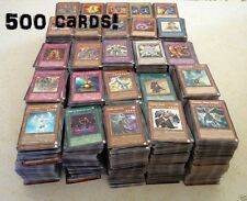 Yugioh 500 BULK Cards Repack 50 Holos & RARE Best Deal Genuine Konami Aust