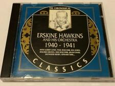 Chronological Classics ERSKINE HAWKINS and His Orchestra 1940 - 1941 CD JAZZ