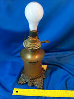 Antique Steel Lighting Co Electrified Lantern Light Ornate Victorian VTG Old