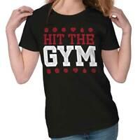Hit The Gym Pokemon Go Nintendo Gamer Funny Gift Cool Cute Ladies Tee Shirt T