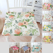 French Country Floral Chair Cushion SEAT PADS Tie On Garden Dining Kitchen ZD014