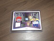 2017/18 LEAF IN THE GAME-USED THE FINAL CURTAIN 88/89 GAINEY/DIONNE 2/6