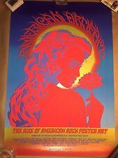 2009 Rise Of American Rock Poster Art Artifact Movie Print Mondo Chuck Sperry Ap