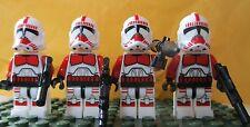 Star Wars Force éveille clone 4 choc Storm Troopers libre lego gun-jedi uk stock