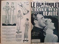 """LE FILM COMPLET 1935 N 1637  L' ECOLE DE LA BEAUTE """" BUSTER CRABBE et IDA LUPINO"""