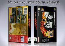 GOLDENEYE 007. PAL VERSION. Box/Case. Nintendo 64. BOX + COVER. (NO GAME).
