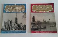 PITKIN'S PRIDE OF BRITAIN Books Salisbury Cathedral & The Houses of Parliament