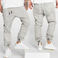 Herren Anti Fit Jeans Justus Hose Jogger DEF Casual Urban Baggy Destroyed Used