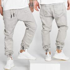 Heren Anti Fit Jeans Justus  Jogger DEF Casual Urban Baggy Vernietigde Gebruikt