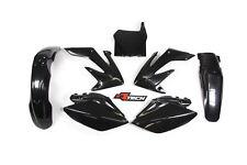 Honda CRF250R 2008 2009 Black Plastic Kit Plastics CRF-NR0-588