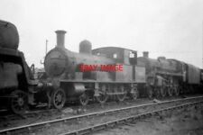 PHOTO  1961 SR ADAMS 4-4-2 TANK AT EASTLEIGH SHEDS 30583 IS THE LOCO NOW PRESERV